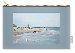 Breezy Point Lighthouse Summer Days Carry-all Pouch