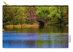 Bridge In Central Park Carry-all Pouch