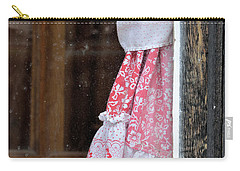 Bright Curtain Through Fly-specked Window Carry-all Pouch