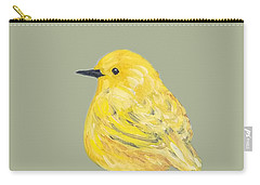 Carry-all Pouch featuring the painting Bright Spot #2 by Maria Langgle