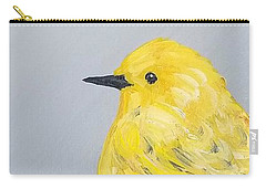 Carry-all Pouch featuring the painting Bright Spot by Maria Langgle