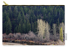 Bright Trees Without Leaves Carry-all Pouch