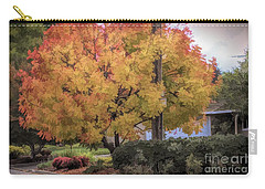 Brilliant Fall Color Tree Yellows Oranges Seasons  Carry-all Pouch