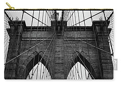 Brooklyn Bridge Wall Art Carry-all Pouch