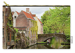 Bruges Footbridge Over Canal Carry-all Pouch
