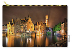 Brugge Belgium Belfry Night Carry-all Pouch