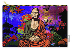 Buddhist Monk. Carry-all Pouch