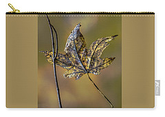 Carry-all Pouch featuring the photograph Buddies by Michael Arend