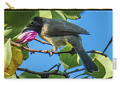 Bulbul Perched On A Branch Carry-all Pouch