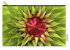 Burst Of Lime Carry-all Pouch