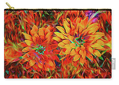 Carry-all Pouch featuring the photograph Bursting With Life by Mike Braun