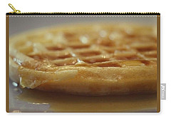 Buttered Waffle With Maple Syrup Carry-all Pouch