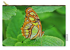 Butterfly Leaf Carry-all Pouch