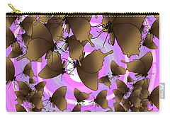 Butterfly Patterns 10 Carry-all Pouch