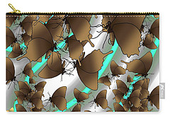 Butterfly Patterns 2 Carry-all Pouch