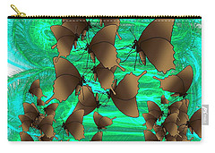 Butterfly Patterns 3 Carry-all Pouch