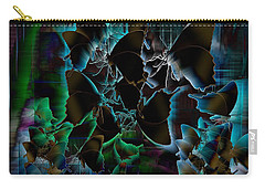 Butterfly Patterns 5 Carry-all Pouch