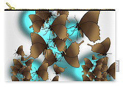 Butterfly Patterns 9 Carry-all Pouch