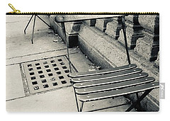 Carry-all Pouch featuring the photograph Byrant Park by Geraldine Gracia