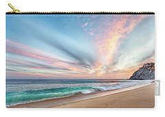 Cabo San Lucas Beach Wave Sunset Carry-all Pouch