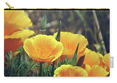 Californian Poppies In The Patagonia Carry-all Pouch