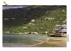 Carry-all Pouch featuring the photograph Cane Garden Bay by Tony Murtagh