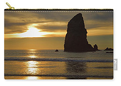 Cannon Beach November Evening Carry-all Pouch