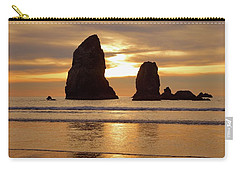 Cannon Beach November Sunset Carry-all Pouch