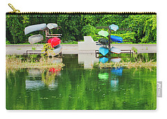Canoes - Yahara River - Madison Carry-all Pouch
