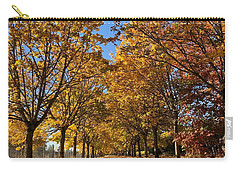 Carry-all Pouch featuring the photograph Canopy Of Color by Brian Eberly