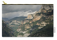 Carry-all Pouch featuring the photograph Canyon Anisclo by Stephen Taylor