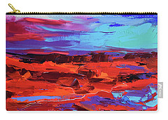 Canyon At Dusk Carry-all Pouch