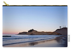 Carry-all Pouch featuring the photograph Cape Kiwanda Oregon Sunrise 101618 by Rospotte Photography