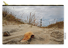 Carry-all Pouch featuring the photograph Cape Lookout Lighthouse by Matthew Irvin