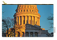 Capitol - Madison - Wisconsin Sunset Carry-all Pouch