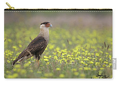 Caracara In Spring Carry-all Pouch