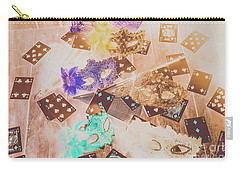 Carnival Of Cards Carry-all Pouch
