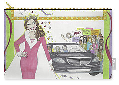 Carpool Queen Carry-all Pouch