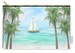 Carribean Bay Carry-all Pouch