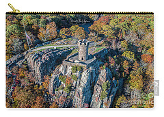 Carry-all Pouch featuring the photograph Castle Craig by Michael Hughes
