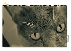 Cat Boticas Portrait 9 Carry-all Pouch