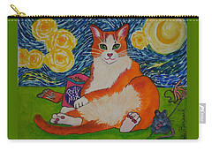 Cat Nipped  Carry-all Pouch