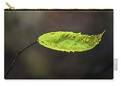 Carry-all Pouch featuring the photograph Catching Raindrops  by Michael Arend