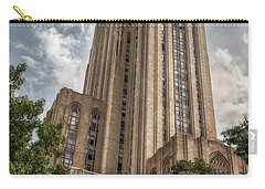 Carry-all Pouch featuring the photograph Cathredral Of Learning by Guy Whiteley