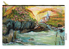 Cattail Falls Carry-all Pouch