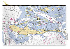Cayo Costa Nautical Chart Carry-all Pouch