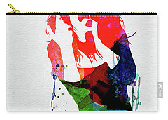 Celine Watercolor Carry-all Pouch