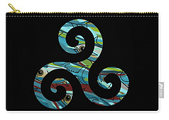 Celtic Spiral 2 Carry-all Pouch