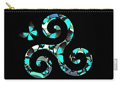 Celtic Spiral 3 Carry-all Pouch
