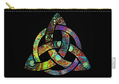 Celtic Triquetra Or Trinity Knot Symbol 3 Carry-all Pouch